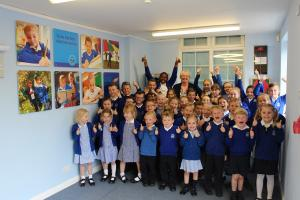 Thurrock Gazette: Students celebrate as Corringham Primary pulls off a dramatic u-turn